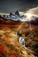 Patagonia Hidden Water Fall